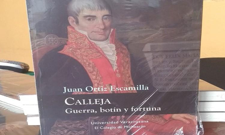 Evocan en libro al personaje María Calleja del Rey