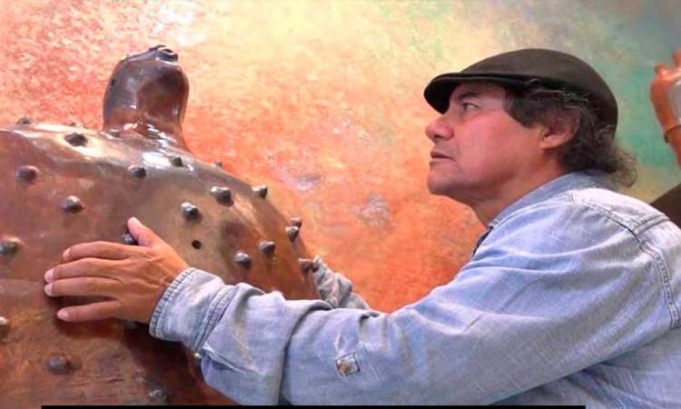 Inaugura mixteco galería en la Condesa