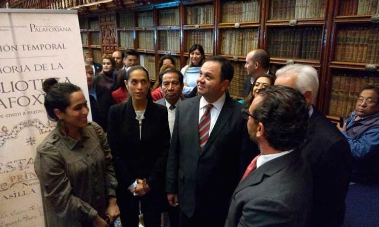 Abren la Memoria Biblioteca Palafoxiana