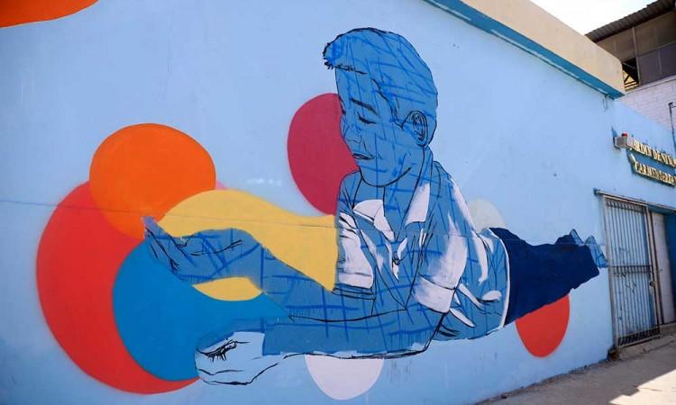 Llevan arte con sentido social a La Acocota