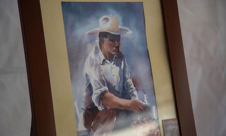 En Zacatlán, destacan rostros indígenas en pinturas