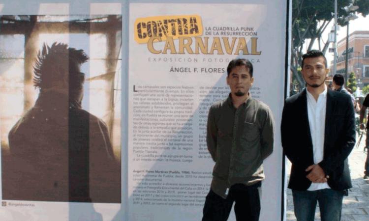 "Presenta expo fotográfica ""Contracarnaval"" en zócalo"