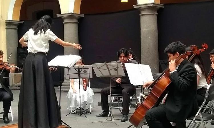 La orquesta rescata valoresy disciplina
