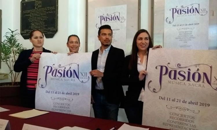 Presentan Festival Pasión Música Sacra