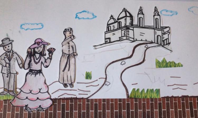 Niños hacen stop motion de Batalla de Puebla