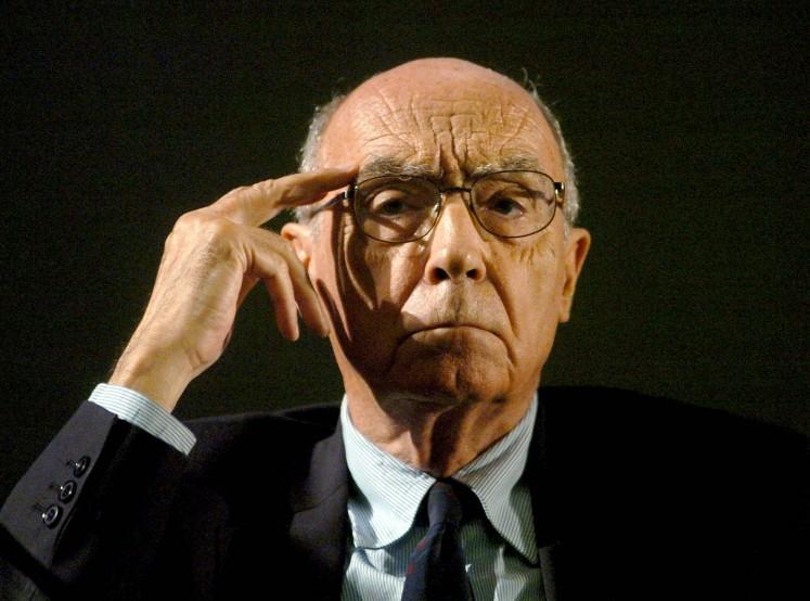 Diez años sin Saramago, previsor del caos actual