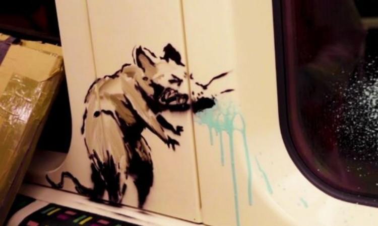 Borran la última obra de Banksy