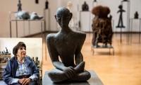 Celebran a Geles Cabrera, pionera de la escultura contemporánea en México