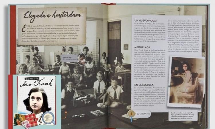 """La vida de Ana Frank, otra mirada sobre lo que """"nunca debe volver a suceder"""""""