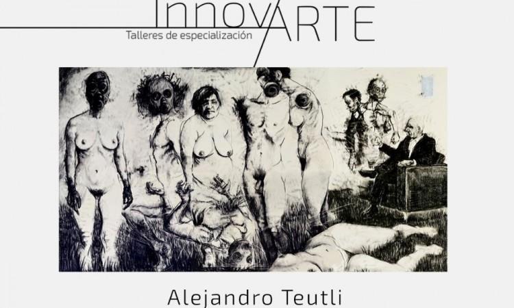El artista Alejandro Teutli impartirá taller de dibujo contemporáneo en el CCU BUAP
