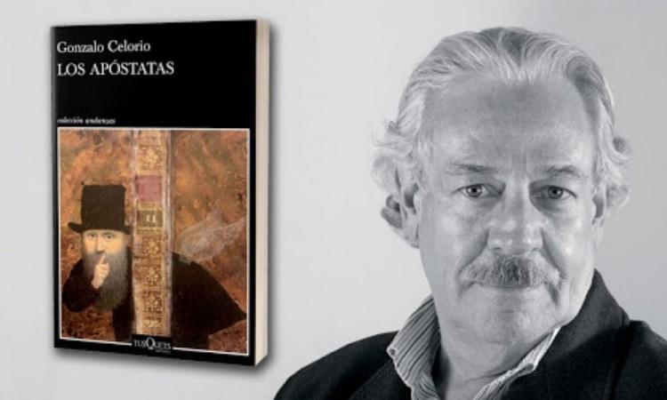 Lanzamiento de 'Los apóstatas' de Gonzalo Celorio será digital
