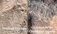 """Grabados en """"El altar de Carreragco"""" en Tetela de Ocampo revelan similitudes con La cueva de los Casares en España"""