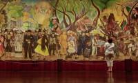 El mural Sueño de una tarde dominical en la Alameda Central se puede apreciar en línea