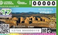 Lotería Nacional emitirá billetes con imágenes de 32 zonas arqueológicas del territorio nacional