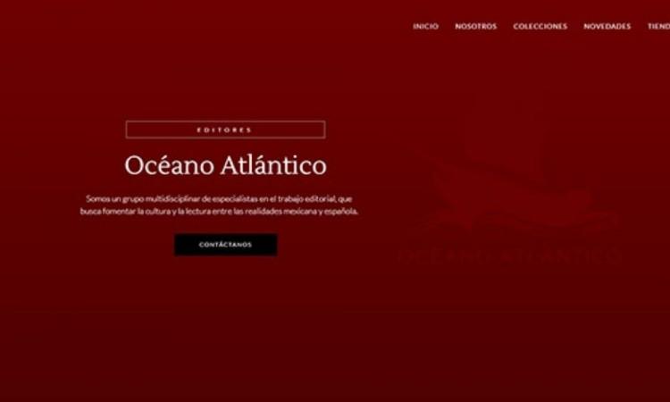 Presenta Océano Atlántico su nueva página web