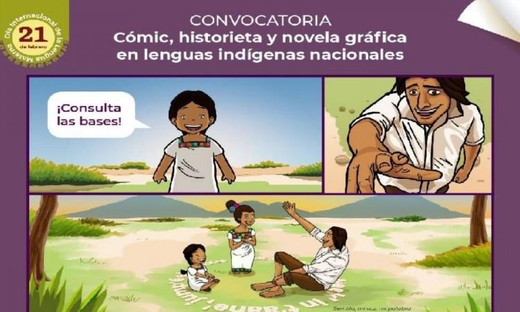 Lanzan convocatoria de cómic, historieta y novela gráfica en lenguas indígenas