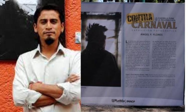 Ángel Flores busca retratar las luchas sociales y expresiones culturales de distintas regiones de Puebla