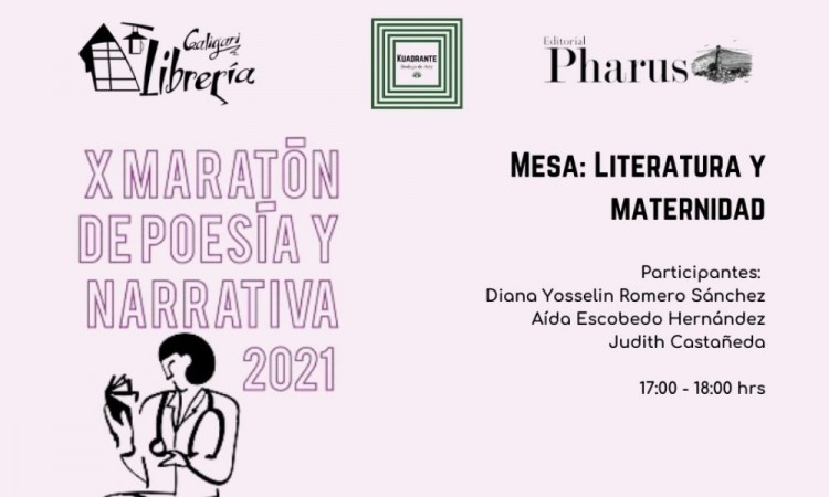 X maratón de poesía y narrativa 18 de mayo de 2021