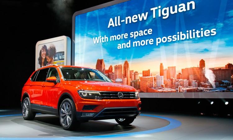 Lanza Volkswagen camioneta Tiguan hecha en Puebla