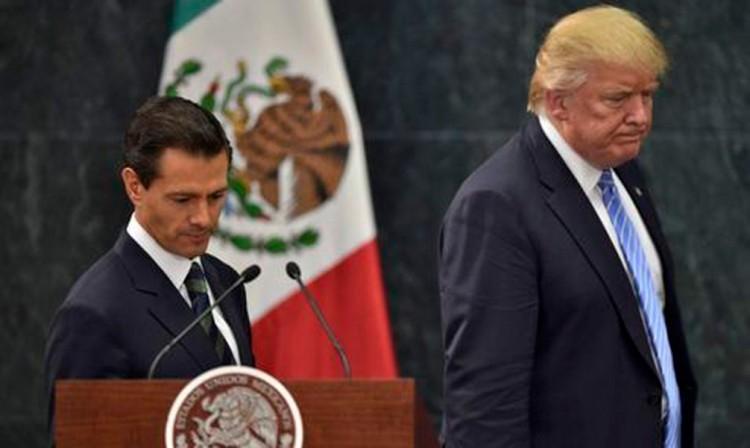 Se reunirán Trump y Peña Nieto el 31 de enero