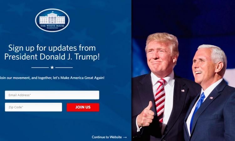 Eliminan sitio web en español de la Casa Blanca