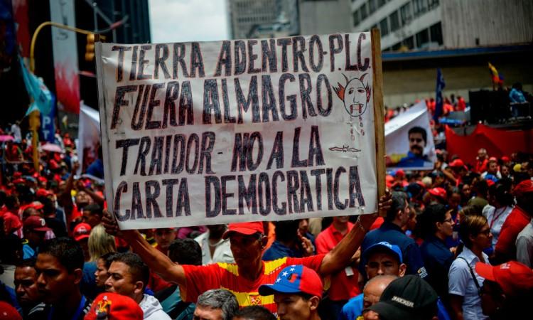 Venezuela desconoce resolución adoptada por OEA