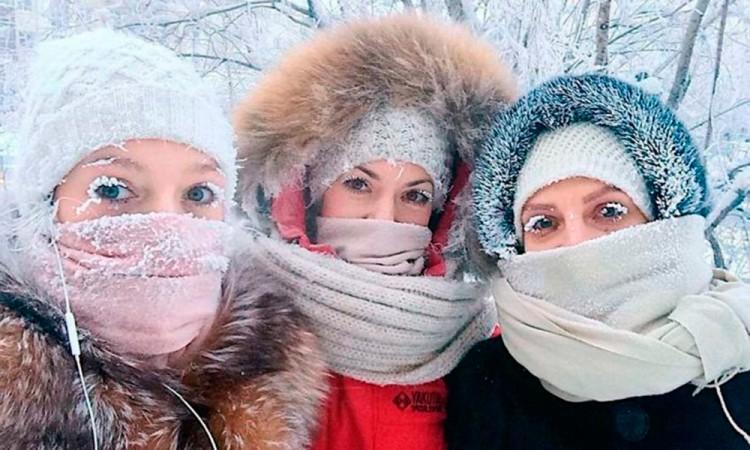 Registran temperaturas de -65° en Siberia