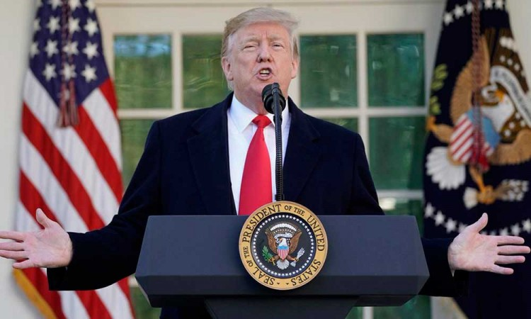 Anuncia Trump acuerdo para abrir gobierno de Estados Unidos