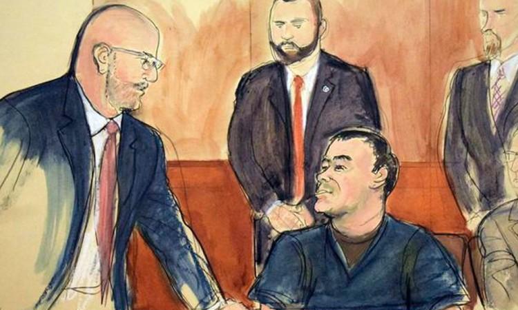 Se espera ya un verdecito en el juicio contra El Chapo
