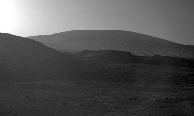 NASA revela foto y así se ve un amanecer en Marte