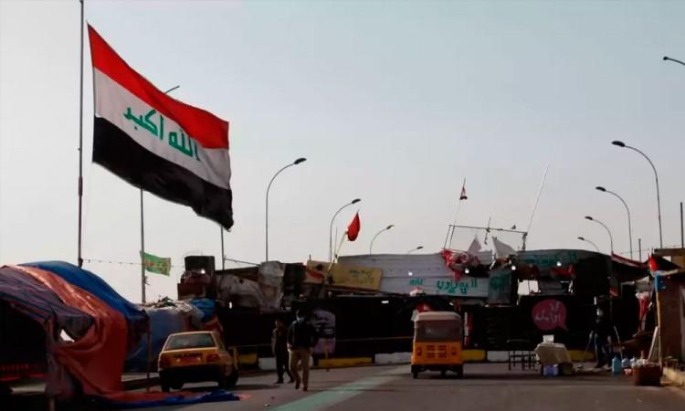 Caen misiles en zona de Embajada de EU en Bagdad