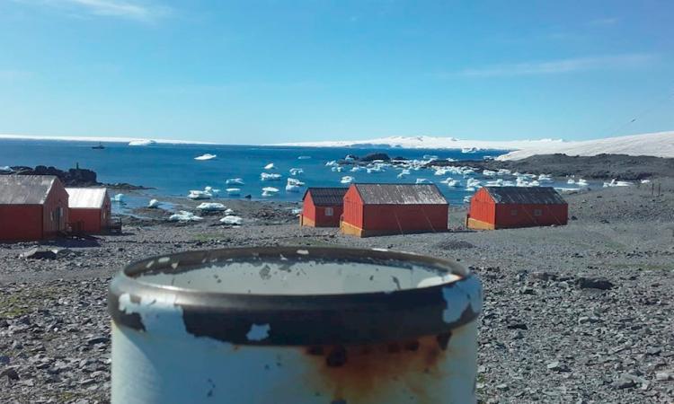 Antártida, con récord de 18.3 grados