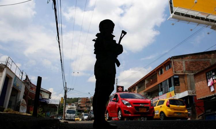 Guerrilla colombiana inicia paro armado de 72 horas