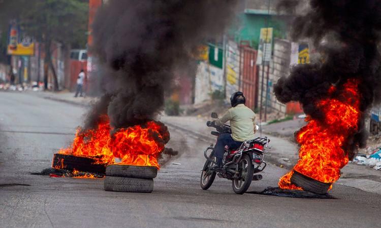 Protestan en Haití tras el tiroteo en Puerto Príncipe