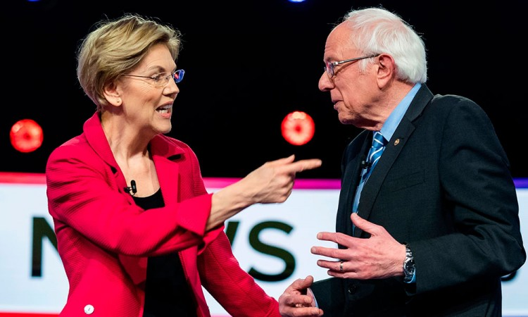 Demandan a Bernie Sanders por invalidar sus votos