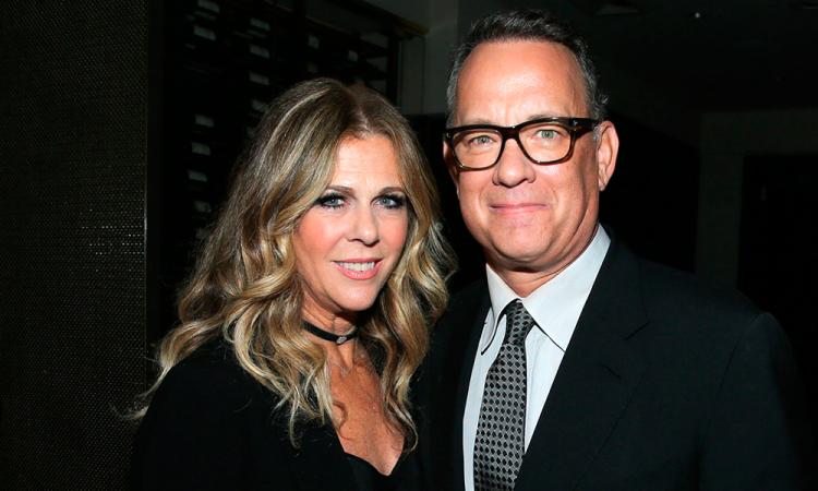 Tom Hanks y Rita Wilson contagiados de Coronavirus