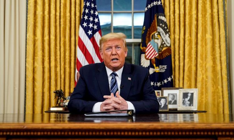 Trump prohíbe la entrada a vuelos provenientes de Europa