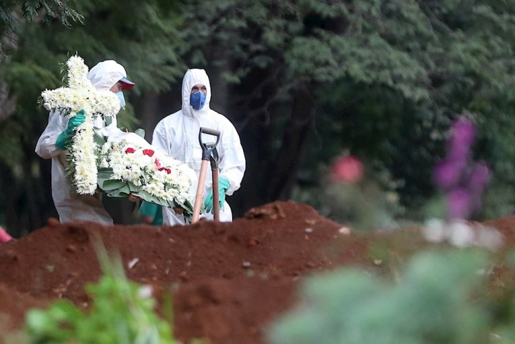 Brasil sobrepasa los 10.000 casos y muertos por COVID-19 llegan a 431