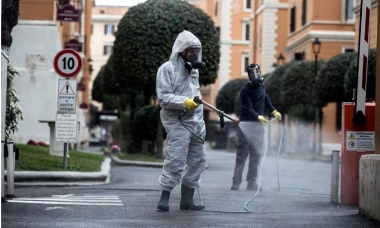 Italia registra 19 mil 468 muertos por coronavirus