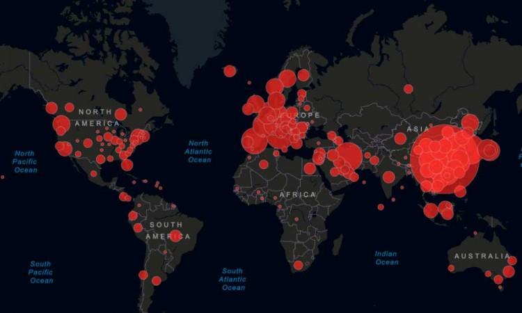 Aumentan a 2 millones 101 mil 164 los contagios en el mundo