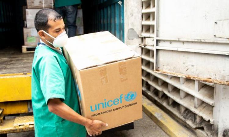 Extiende Unicef entrega de insumos médicos en Latinoamérica