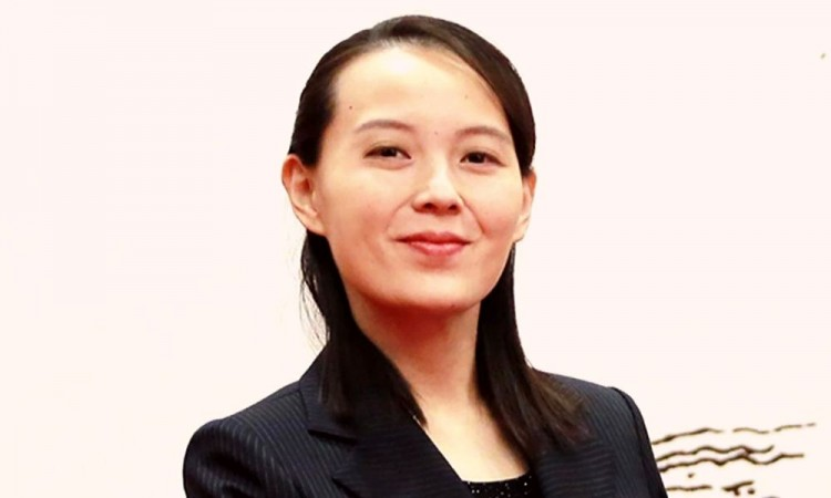 Kim Yo Jong, hermana del mandatario norcoreano que está cerca del poder