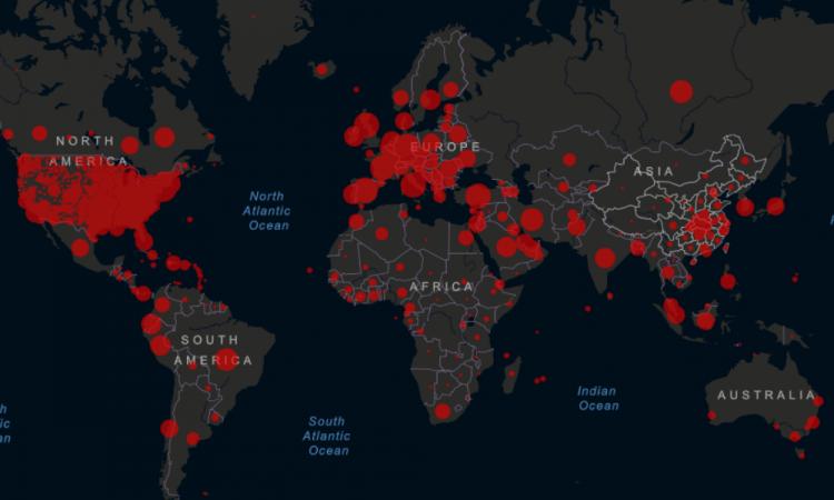 Van más de 200 mil muertes por coronavirus en el mundo