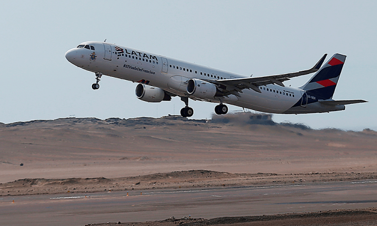 La aerolínea Latam se declara en quiebra por los efectos del coronavirus