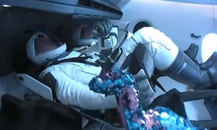 El tercer tripulante del lanzamiento de Space X