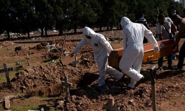 Brasil ya es segundo país con más muertes de Covid-19