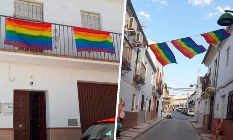 Ayuntamiento retira bandera LGBT y así responde un pueblo español
