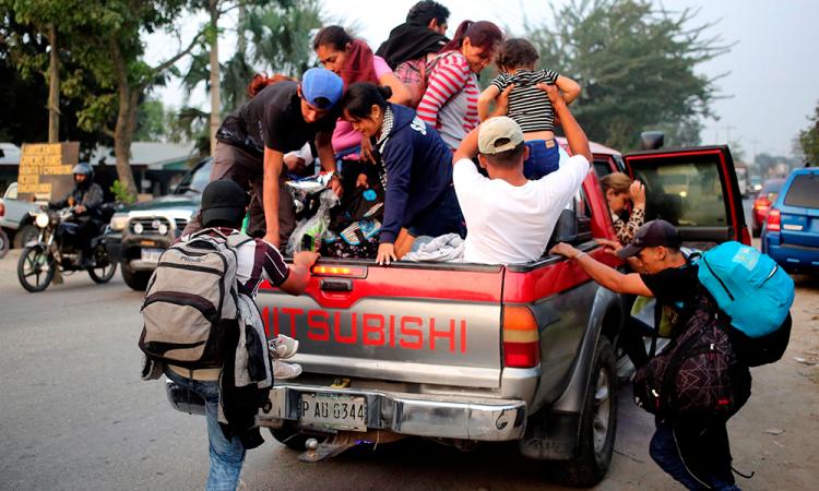 Migración centroamericana, el invitado invisible en reunión de Trump y AMLO