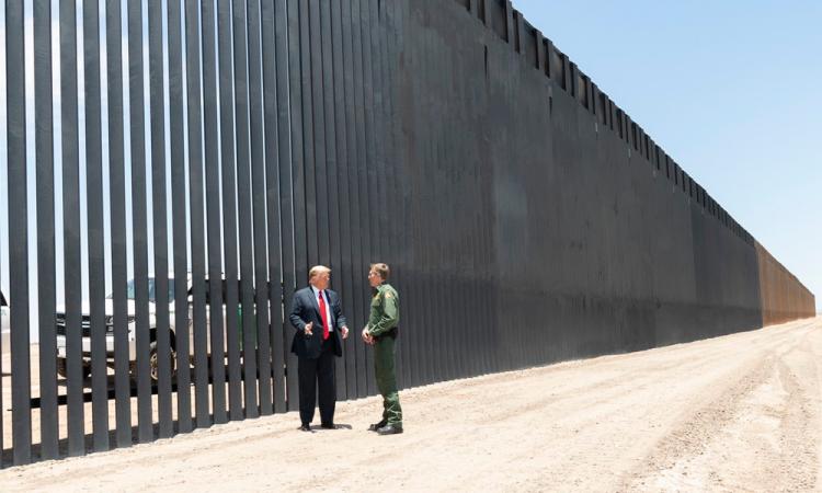 El muro pasará por Texas, Arizona, Nuevo México y California