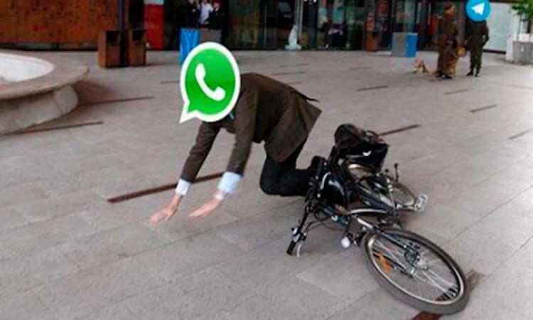 No es tu conexión: se cae WhatsApp en todo el mundo